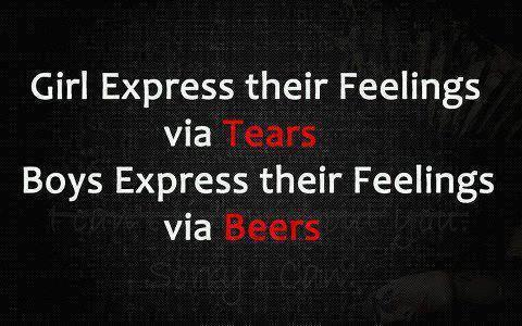 Girls express their feelings via TEARS,