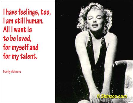 I have feelings, too