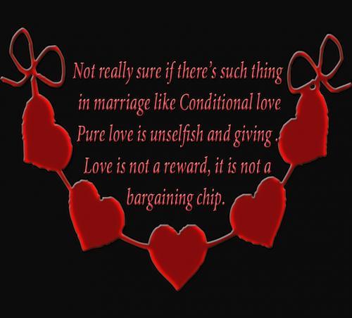 conditional love quotes quotesgram