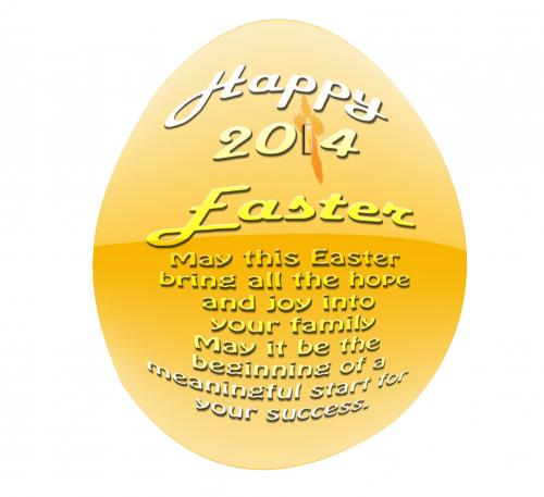 Happy Easter, may this Easter bring all the hope and joy into your family. May it be the beginning of a meaningful start for your success.