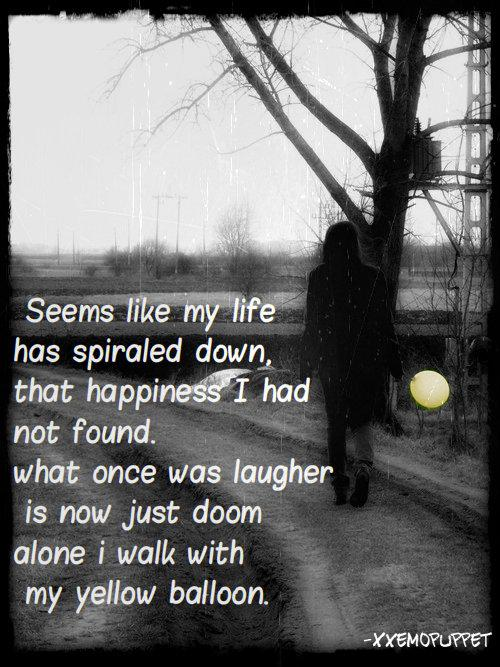 unidentified unidentified sad emo sadness picture quotes