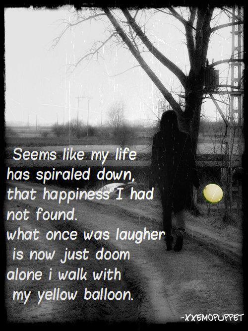 sad emo girl quotes