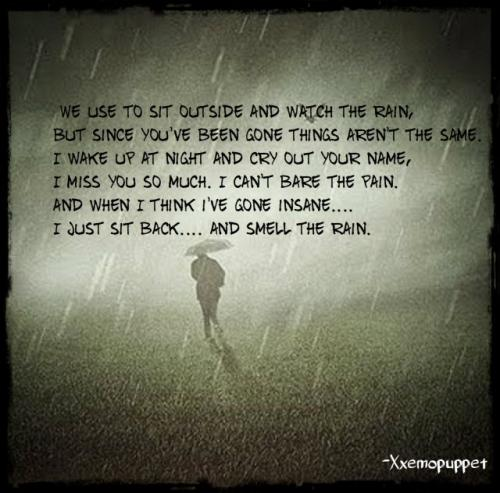 The name of the poem is The Smell of Rain
