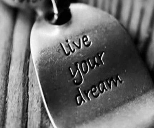 live your dream no matter what it is. No one is going to experience it but you. Never let your life be in someone else's hands.