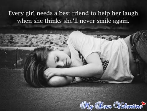every girl needs a best friend to help her laugh when she