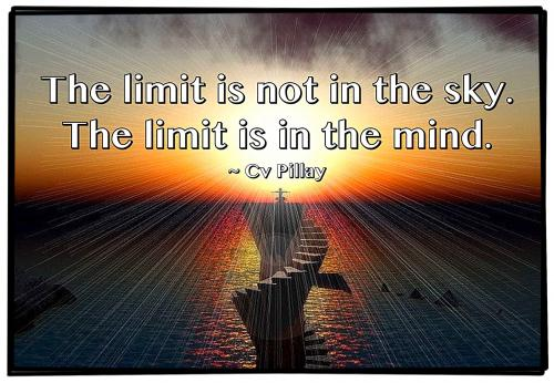 The limit is not in the sky. 