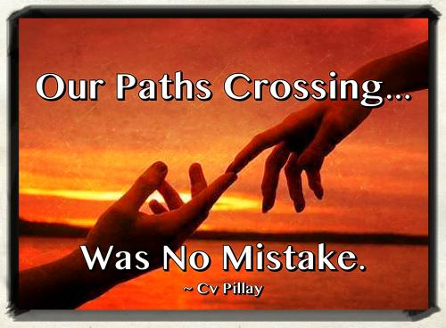 Crossing Paths Quotes. QuotesGram