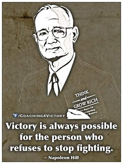 Victory is always possible 
