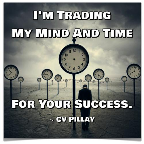I'm Trading My Mind And Time For Your Success.