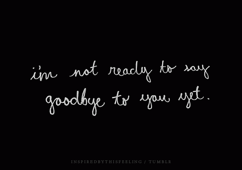amber hope guardian goodbye quotes