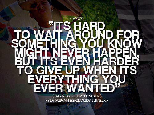 bakare segun (Baky_phreshdude) Never Give Up Quotes