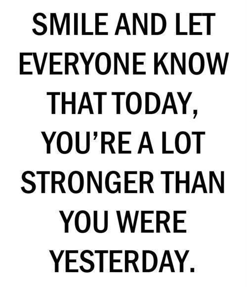 Quote Everyone Should Smile: Neha Gupta (Neha_) Being Strong Picture Quotes