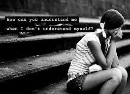 How can you understand me when I don't understand myself?