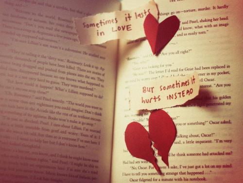 Sometimes it lasts in love sometimes it hurts instead