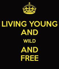 I'm going to live like I please. If you hurt me, that's okay. I'm strong enough to carry on. I'm living young, wild and free.