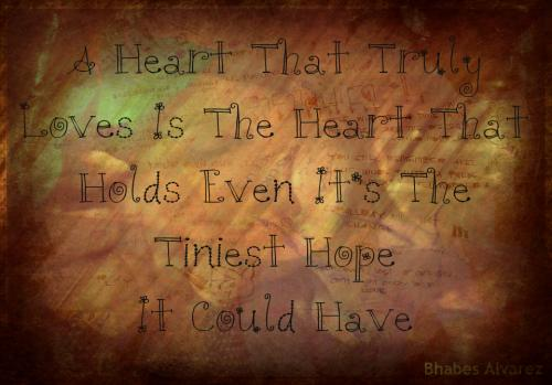 A Heart That Truly