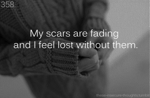 Quotes About Fading Love: Megan (Jpsfiance15) Scars Quotes