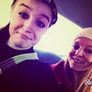 Me and my bestfriend kate you guys. she literally saved me life.