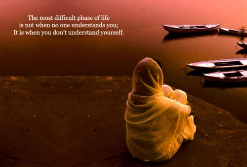 the situation go wrong when u don't understand yourself..,. :(