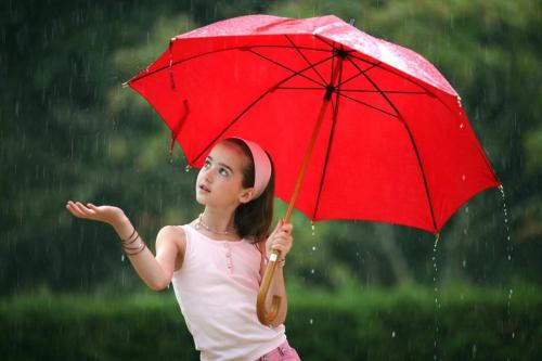 If you think sunshine brings you happiness, then you havent danced in the rain.