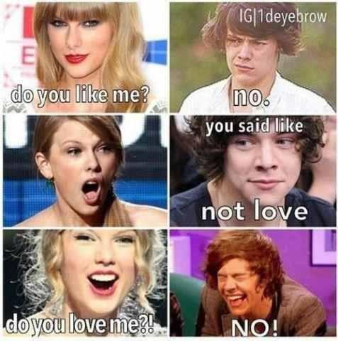 harry styles and taylor swift relationship status funny