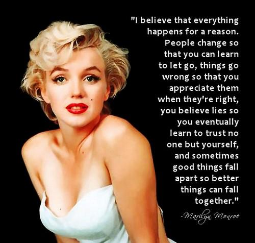 Learn To Appreciate Things Quotes: Harriet Morgan (Marilyn_Monroe) Appreciate Life Quotes