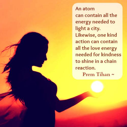 An atom 